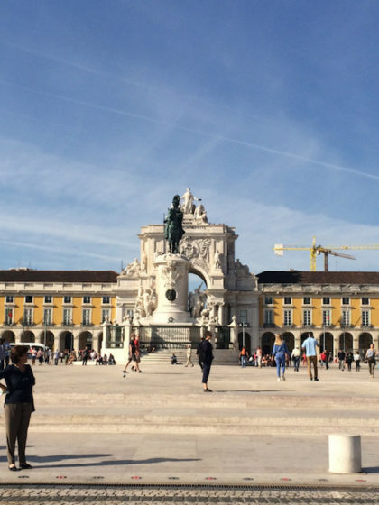 The Praça do Comércio, Lisbon, Portugal