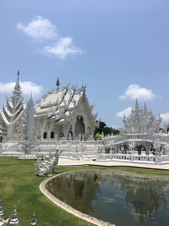 Wat Rong Khun Wat in Pa O Don Chai, Thailand